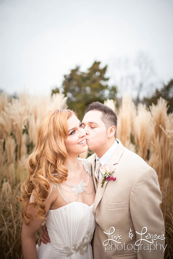Brandy & Angel's bridal session at Josephine Farm 11.16.14.