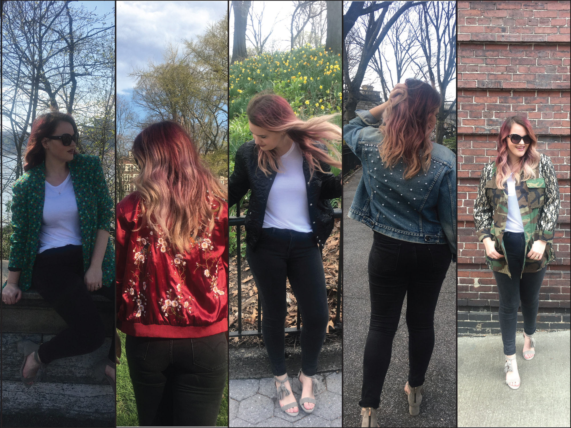 My Top 5 Favorite Spring Jackets